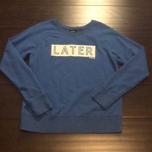 Later Hater crewneck